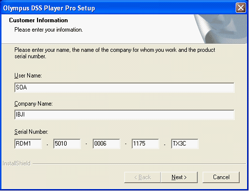 DSS Player Pro (Release 4) Software installation